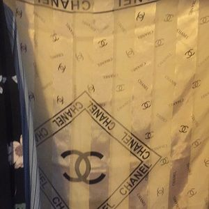 Gold Chanel scarf